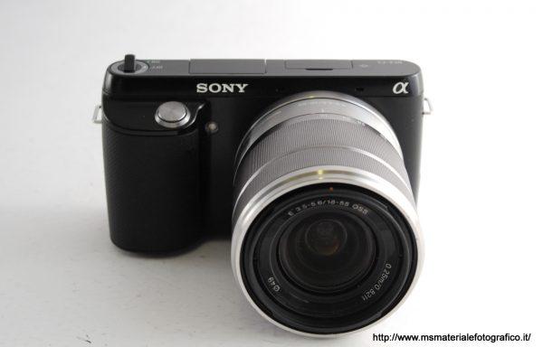Kit Fotocamera Sony Alpha NEX-F3 + Obiettivo Sony 18-55mm f/3,5-5,6