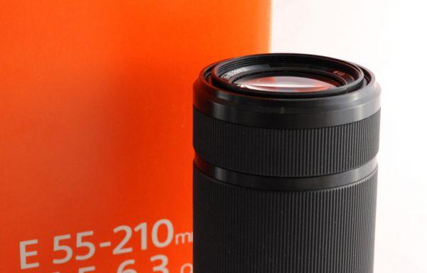 Obiettivo Sony E 55-210mm f/4,5-6,3
