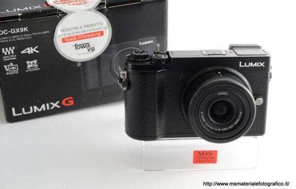 Kit Fotocamera Panasonic Lumix DC-GX9K + Obiettivo Panasoniuc 12-32mm f/3,5-5,6
