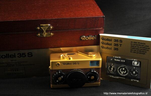 Fotocamera Rollei 35 S Gold