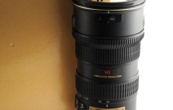 Obiettivo Nikkor AF-S VR 70-200mm f/2,8 G ED
