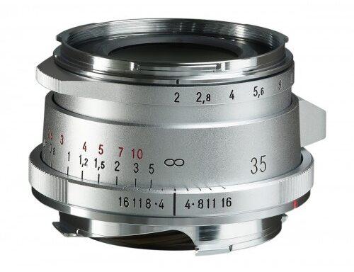 Obiettivo Voigtlander 35mm f/2 Ultron II VM (Silver)