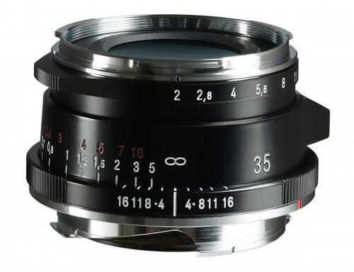 Obiettivo Voigtlander 35mm f/2 Ultron II VM (Black)
