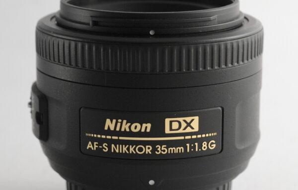 Obiettivo Nikkor AF-S 35mm f/1,8 G DX