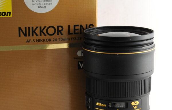 Obiettivo Nikkor AF-S 24-70mm f/2,8 E ED VR