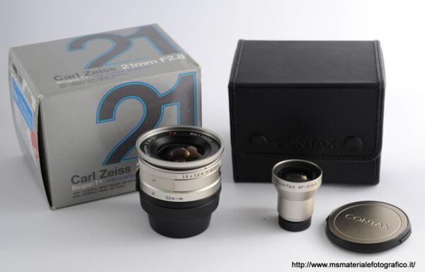 Obiettivo Contax G Biogon 21mm f/2,8 + Mirino