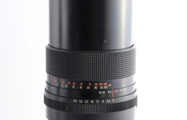 Obiettivo Carl Zeiss Jena MC Sonnar 300mm f/4 per Pentacon e Kiev 60