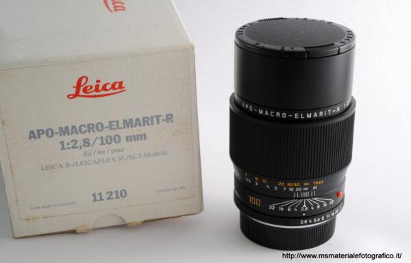 Obiettivo Leica R Apo Macro Elmarit 100mm f/2,8