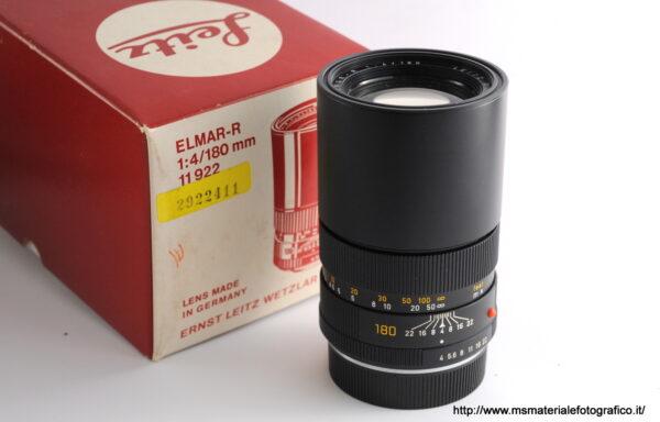Obiettivo Leica R Elmar 180mm f/4