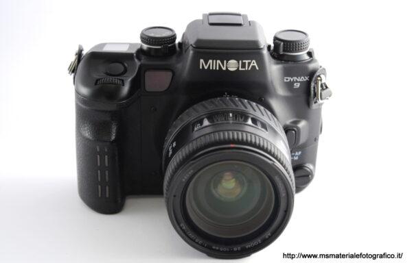 Kit Fotocamera Minolta Dynax 9 + Obiettivo Minolta AF 28-105mm f/3,5-4,5