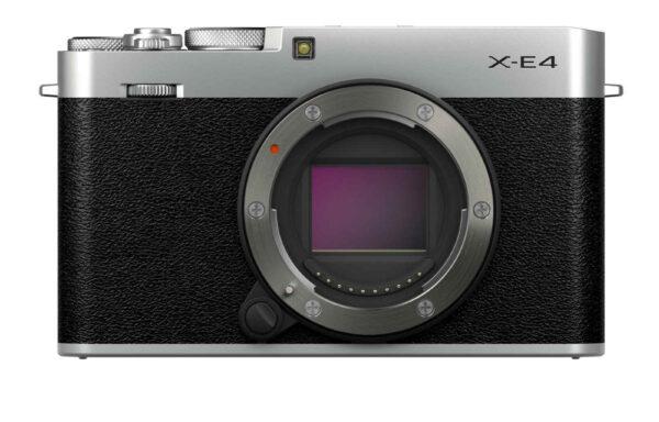 Fotocamera Fujifilm X-E4 Silver (solo corpo)