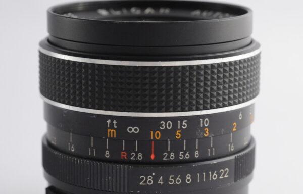 Obiettivo Elicar 35mm f/2,8 M42