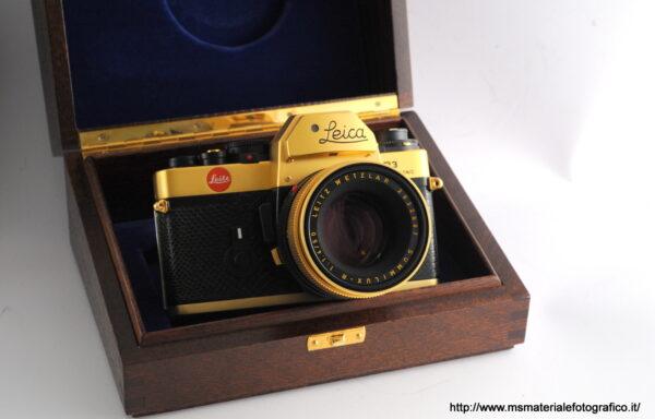 Kit Fotocamera Leica R3 Electronic Gold