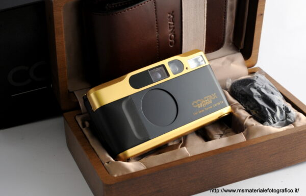 Fotocamera Contax T2 Gold 60 Years