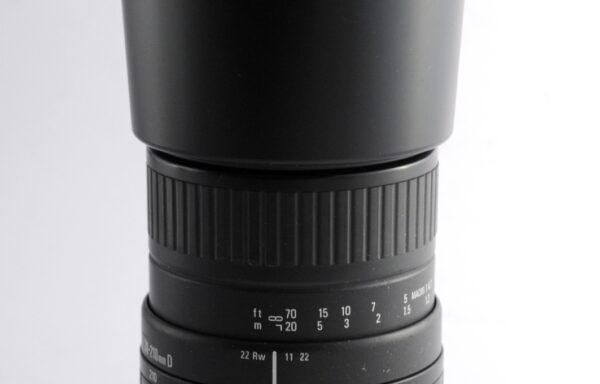 Obiettivo Sigma 70-210mm f/4-5,6 D per Nikon