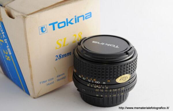 Obiettivo Tokina 28mm f/2,8 per Nikon