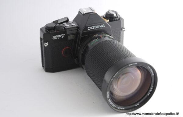 Kit Fotocamera Cosina CT7 + Obiettivo Vivitar 28-210mm f/3,5-5,6