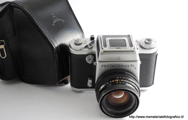 Kit Fotocamera Pentacon Six TL + Obiettivo Zeiss Jena Biometar 80mm f/2,8 MC
