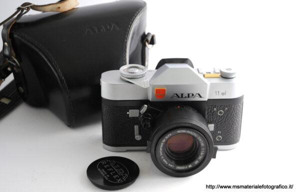 Kit Fotocamera Alpa 11el + Obiettivo Kern-Macro-Switar 50mm f/1,9 AR