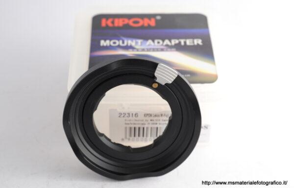 Adattatore Kipon L/M-GFX