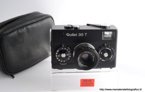 Fotocamera Rollei 35 T Black