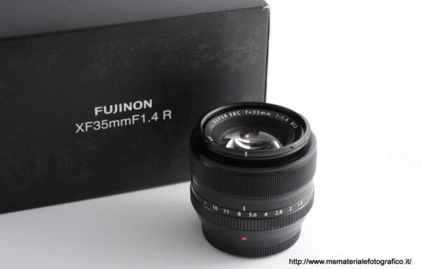 Obiettivo Fujifilm XF 35mm f/1,4 R