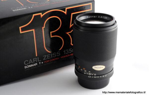 Obiettivo Contax Sonnar T* 135mm f/2,8