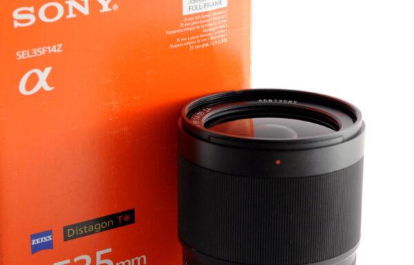 Obiettivo Sony Distagon T* FE 35mm f/1,4 ZA