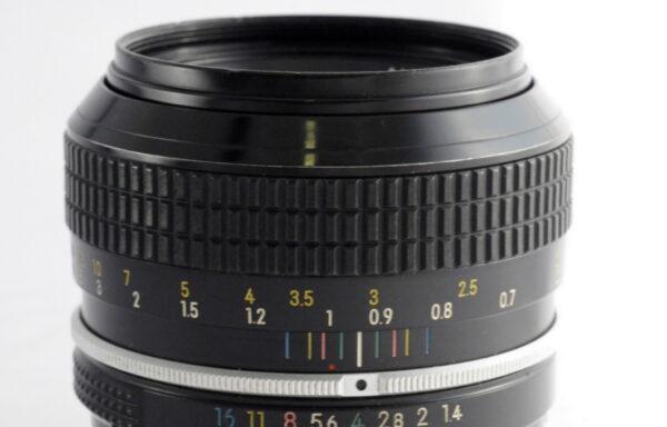 Obiettivo Nikkor 50mm f/1,4 Mod AI