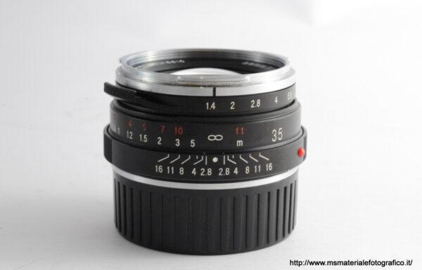 Obiettivo Voigtlander Nokton 35mm f/1,4 VM