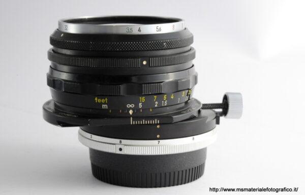 Obiettivo PC-Nikkor 35mm f/3,5