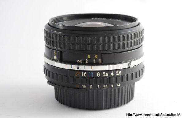 Obiettivo Nikkor 28mm f/2,8 Series E