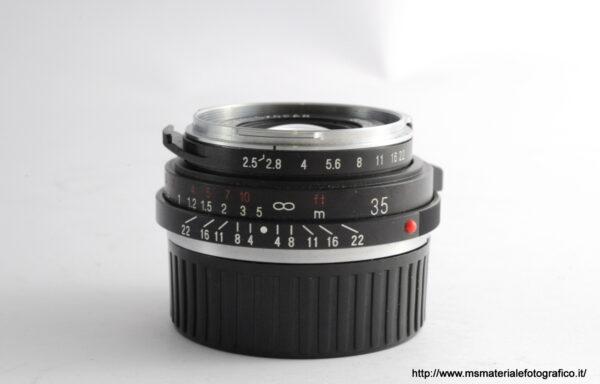 Obiettivo Voigtlander Color-Skopar 35mm f/2,5 VM