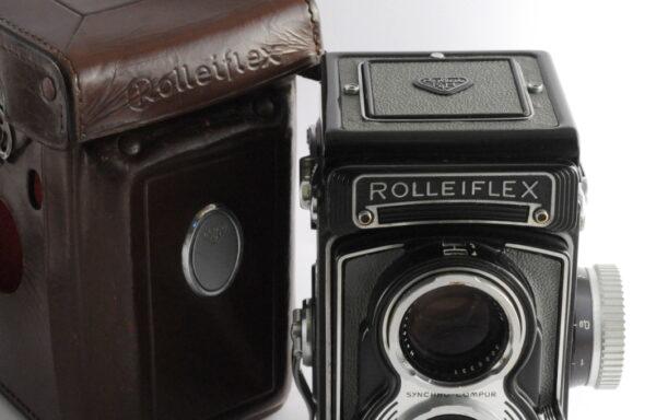 Fotocamera Rolleiflex 3,5 T