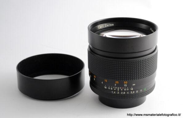 Obiettivo Contax Planar 85mm f/1,4