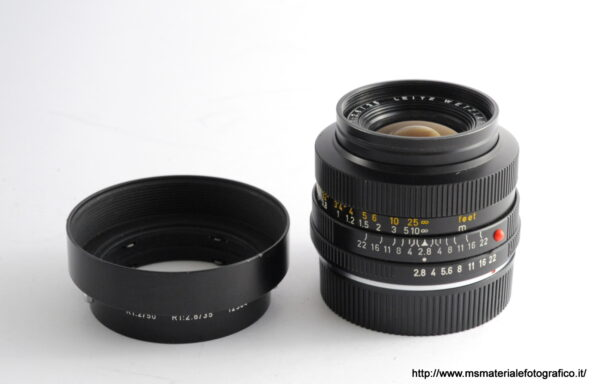 Obiettivo Leica R Elmarit 35mm f/2,8