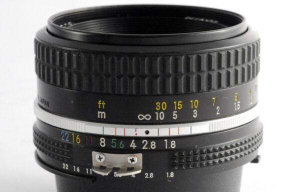 Obiettivo Nikkor AI 50mm f/1,8