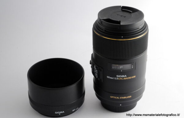 Obiettivo Sigma Macro 105mm f/2,8 DG HSM per Nikon