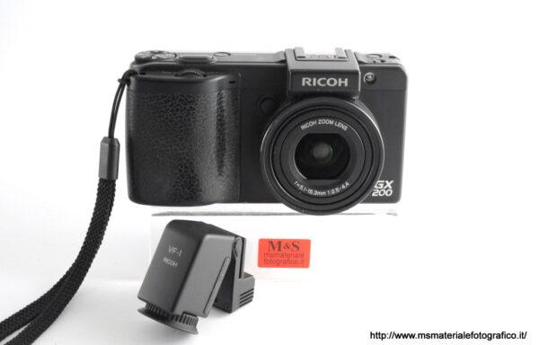 Fotocamera Ricoh GX 200