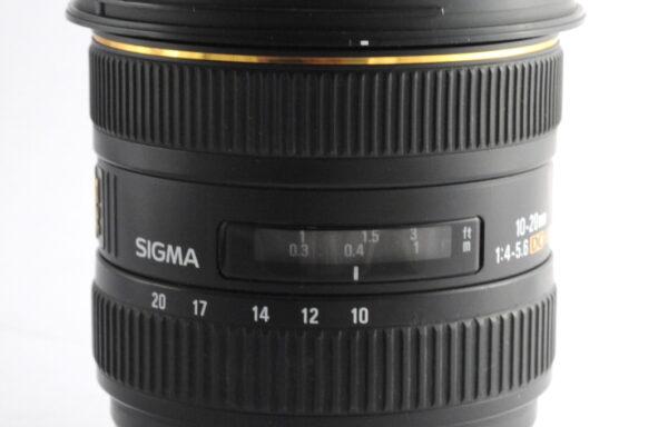 Obiettivo Sigma 10-20mm f/4-5,6 DC HSM per Nikon