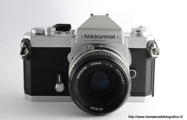 Kit Fotocamera Nikkormat FT3 Silver + Obiettivo Nikkor AI 50mm f/2