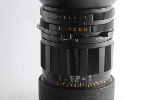 Obiettivo Mamiya-Sekor 250mm f/5 per Mamiya Press