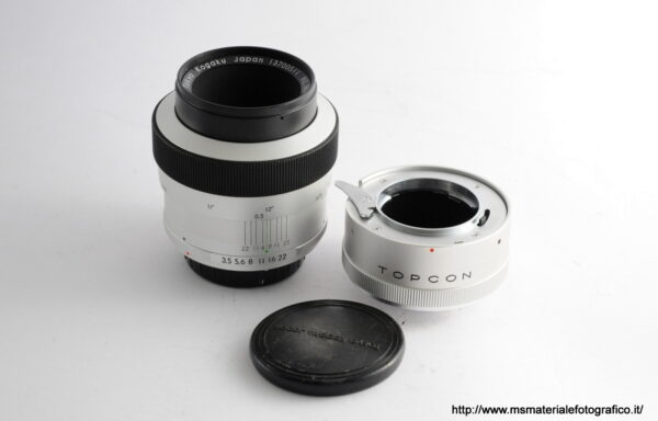 Obiettivo Topcon RE Macro Auto-Topcor 58mm f/3,5 + Anello