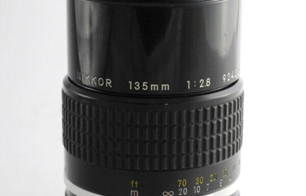 Obiettivo Nikkor AI-S 135mm f/2,8