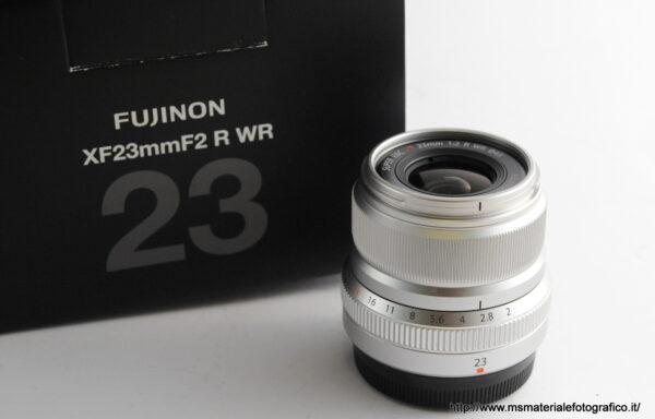 Obiettivo Fujifilm XF 23mm f/2 R WR Silver