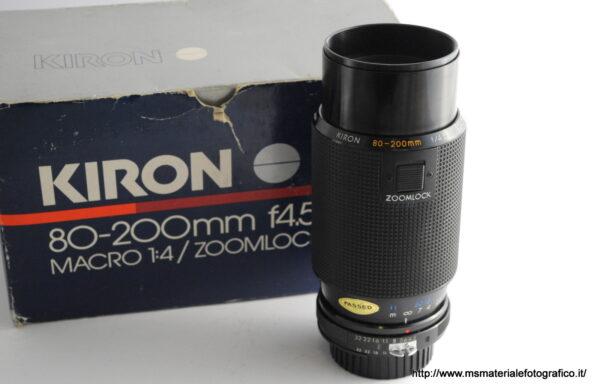 Obiettivo Kiron 80-200mm f/4,5 per Nikon
