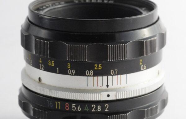 Obiettivo Nikkor-HC 50mm f/2