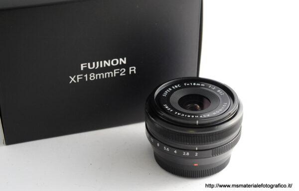 Obiettivo Fujifilm XF 18mm f/2 R