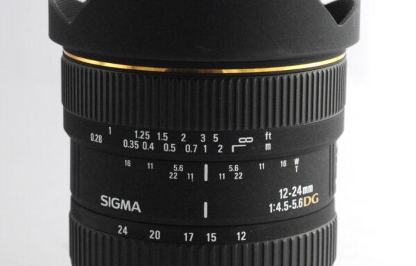 Obiettivo Sigma 12-24mm f/4,5-5,6 DG per Pentax