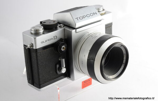 Kit Fotocamera Topcon Super D + Obiettivo Topcon RE Macro Auto-Topcor 58mm f/3,5